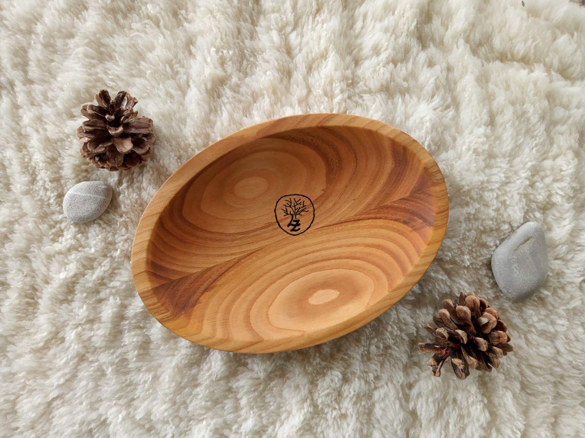 Dřevěný ovál