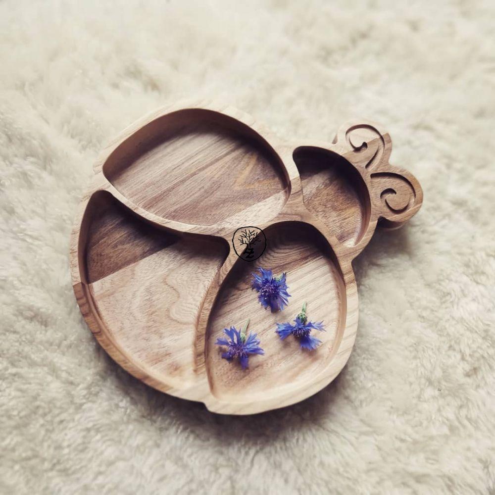 dřevěná miska beruška