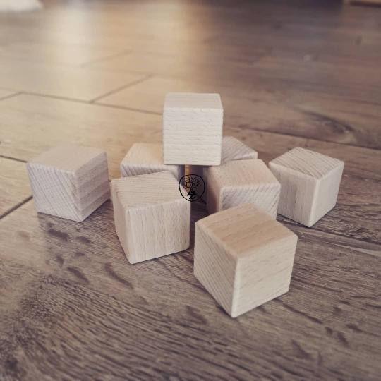 Dřevěné kostky, kostičky